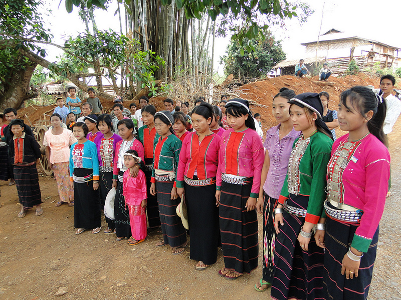 Shan minority group in Myanmar. Photo from  Flickr page of EU Humanitarian Aid and Civil Protection