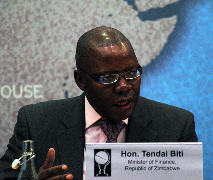 Zimbabwe's former finance minister Tendai Biti.