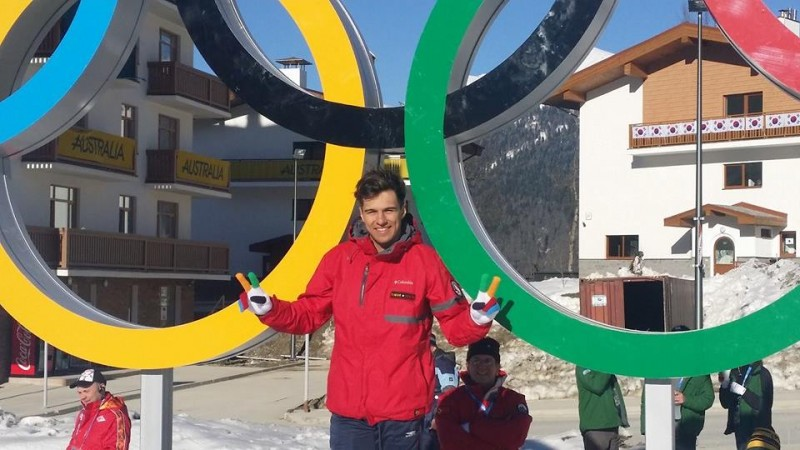 Yohan Goncalves Goutt at the Sochi Games