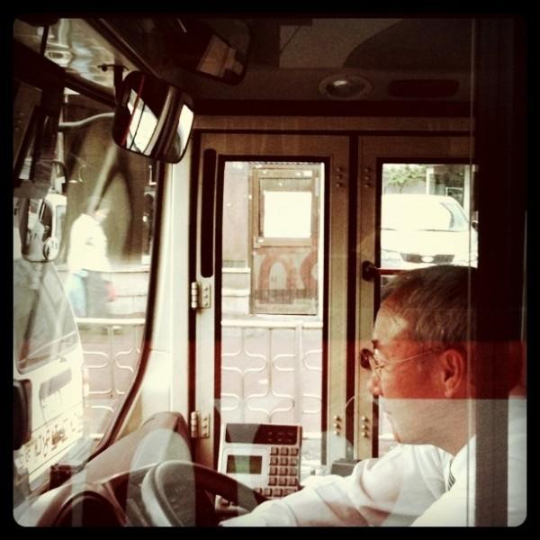 Image of Senior Bus Driver, South Korea