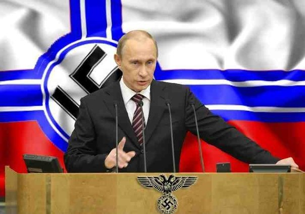Putin is a Nazi. Clearly.