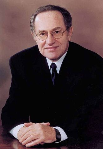 American lawyer and political commentator Alan Dershowitz. Photo released under Creative Commons by Flickr user The Huntington.
