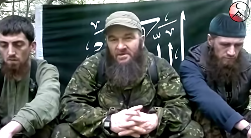 Doku Umarov. YouTube Screenshot.