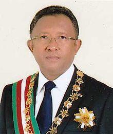Madagascar president Hery Rajaonarimampianina - Public domain