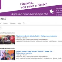 """""""L'Italiano...non serve a niente?"""", from Alma Edizioni's contest page."""