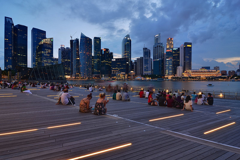 Marina Bay. Flickr photo by Nicolas Lannuzel (CC License)