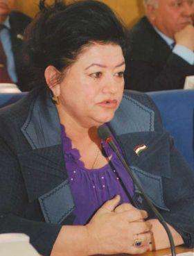 MP Saodat Amirshoeva