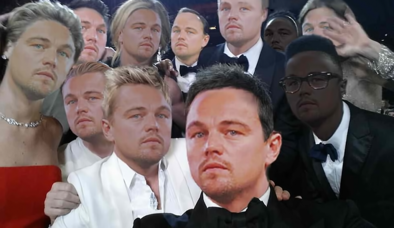 Sad DiCaprio selfie. Anonymous image found online.