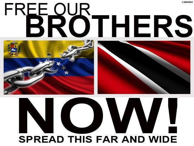 "Digital poster for ""Free Our Brothers Now"" campaign"