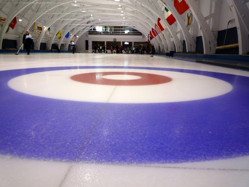 Image of curling rink, Image by Sarah0s on Flickr  and Fotopedia (CC BY NC ND 2.0)