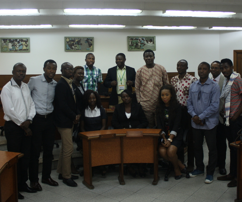 Participants at the Lagos #GVMeetUp (Image by Kosi Ibekwe and used with his permission)