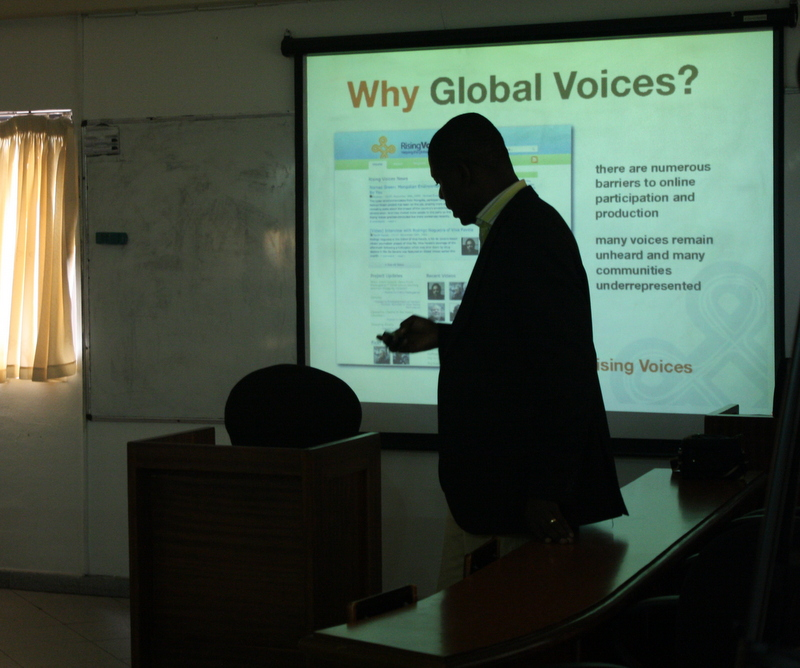 Lagos #GVMeetUp at School of Media and Communication (Image by Kosi Ibekwe and used with his permission)