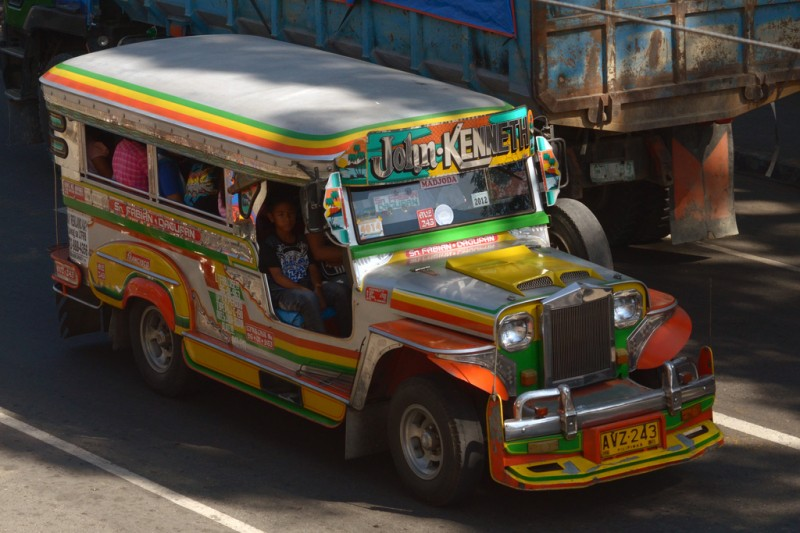 A jeepney in Pangasinan province. Flickr photo by Brandon Keim (CC License)