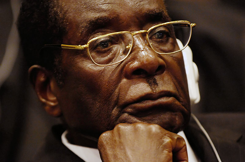 President Robert Mugabe. Public Domain photo belonging to U.S. Air Force.