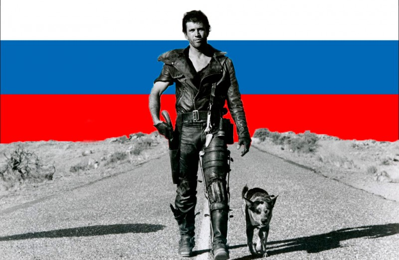 North Ossetia's road warriors? Images mixed by Kevin Rothrock.