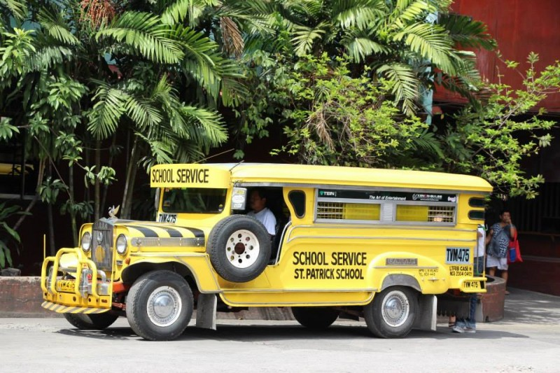 A school service jeepney. Photo from Facebook page of Sarao