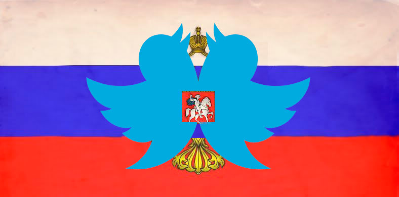 Top tweets in the Russian twittersphere. Images mixed by Kevin Rothrock.