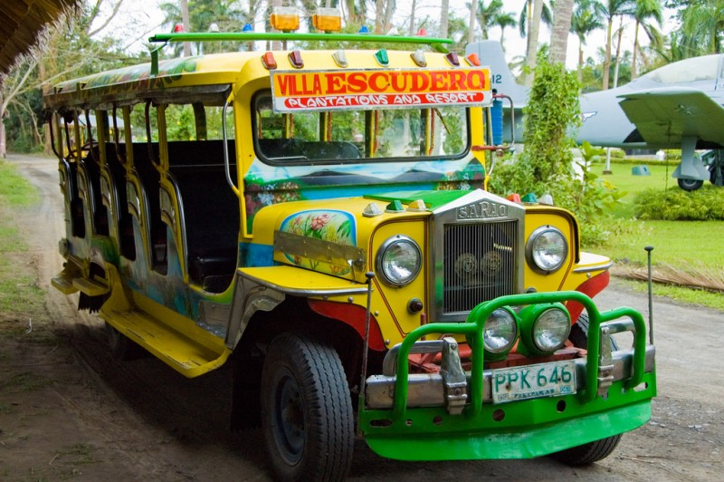 This Jeepney design is often used in tourism resorts. Flickr photo by Joshua Bousel (CC License)