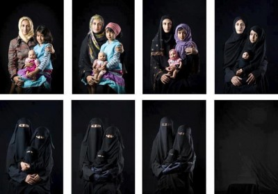 The Hijab Series: Mother, Daughter, Doll by Boushra Almutawakel