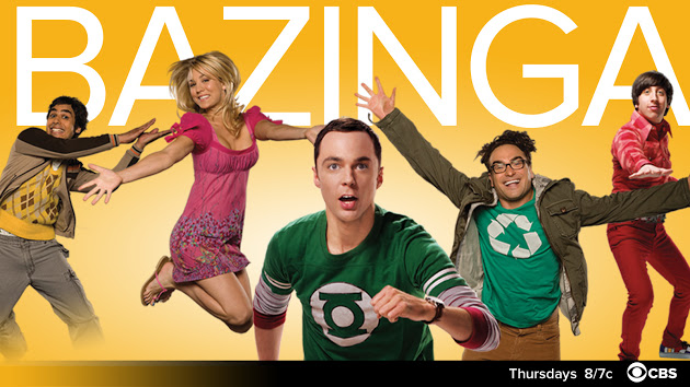The Big Bang Theory online poster from the drama's Google Plus public account.
