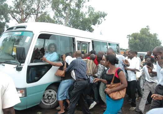 Transport crisis in the city of Maputo