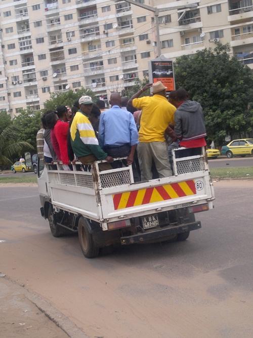 """""""My Love"""" driving around Maputo."""
