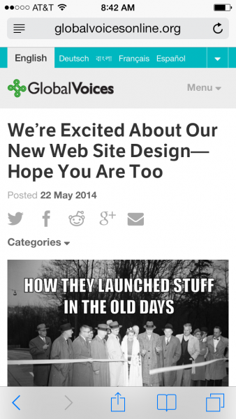 The new design is mobile responsive, so you can enjoy it on all your devices!