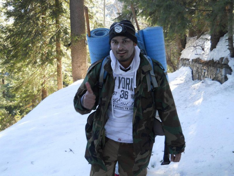 Jawad is also a volunteer wilderness trainer with Youth Impact. Photo from Jawad's Public Facebook page.