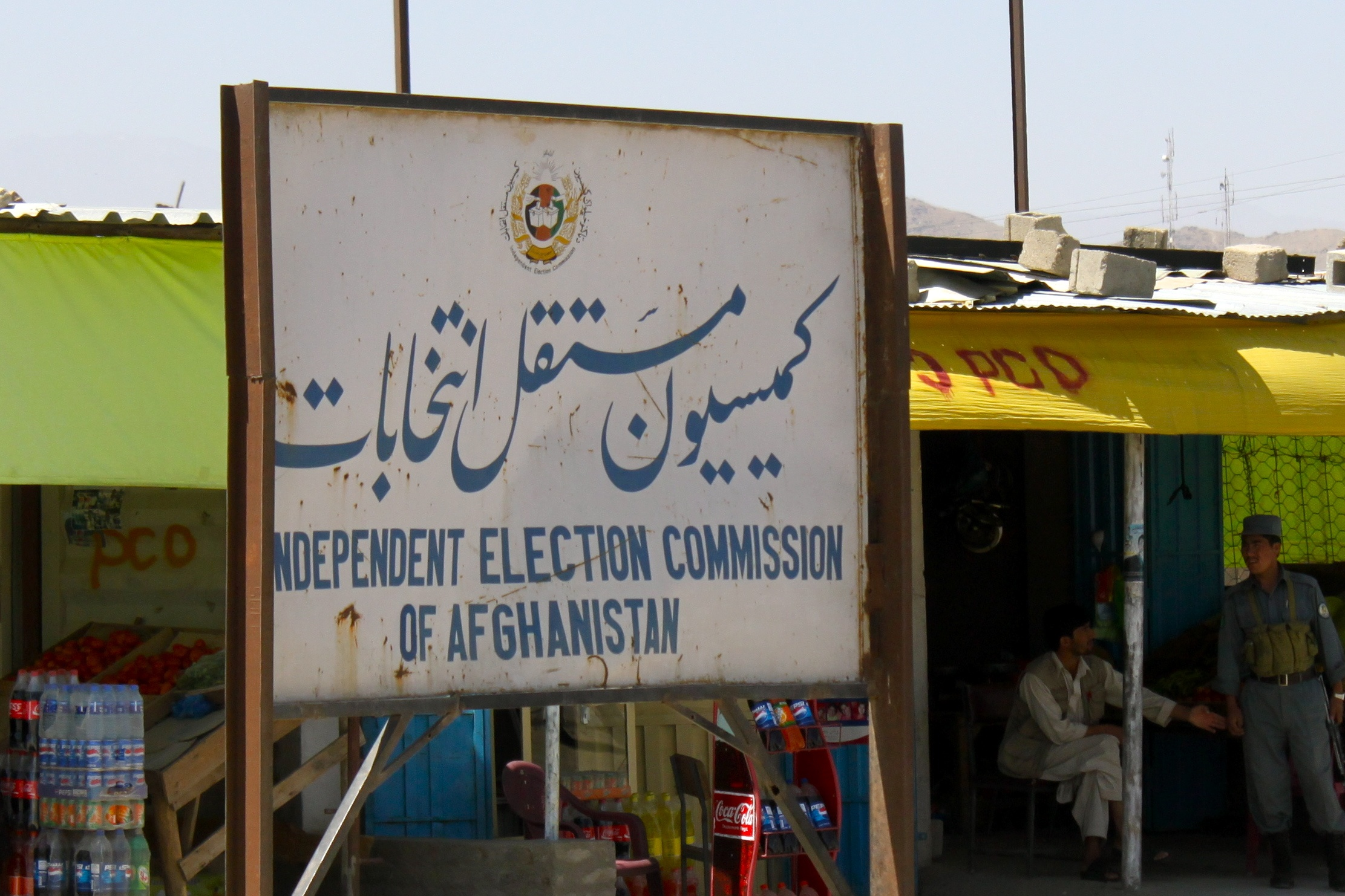 The Independent Election Commission is embroiled in a scandal following the 2014 Afghan vote. Photo via Wikipedia Commons