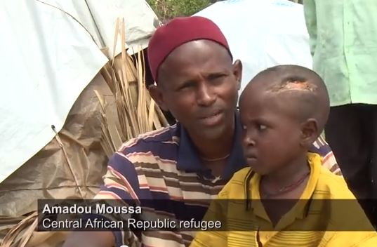 Ibrahim and Amadou - screen capture of UNHCR video on YouTube