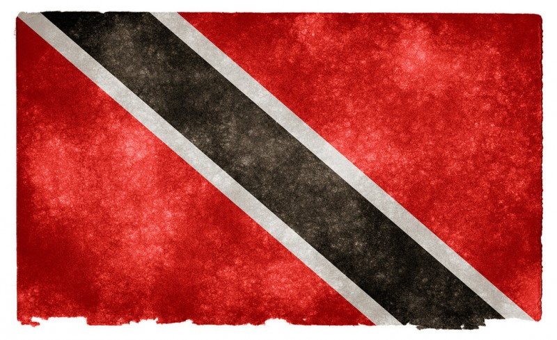 Grunge textured flag of Trinidad and Tobago on vintage paper, released under a standard Creative Commons License - Attribution 3.0 Unported.