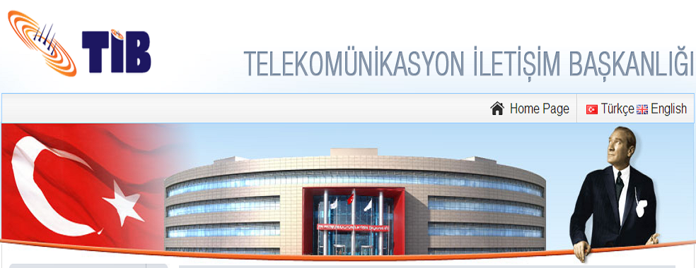 the Presidency of Telecommunication and Communication in Turkey is in charge of Turkey's legally justified internet restrictions.