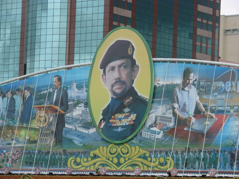 Brunei is ruled by a powerful Sultan who is also one of the richest men in the world. Flickr photo by watchsmart (CC License)