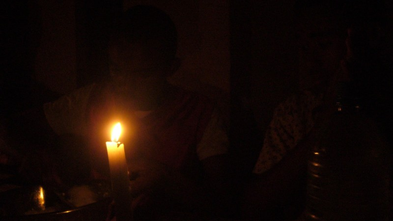 A Night in Madagascar when electricity is out  by Augustin- CC-BY-2.0