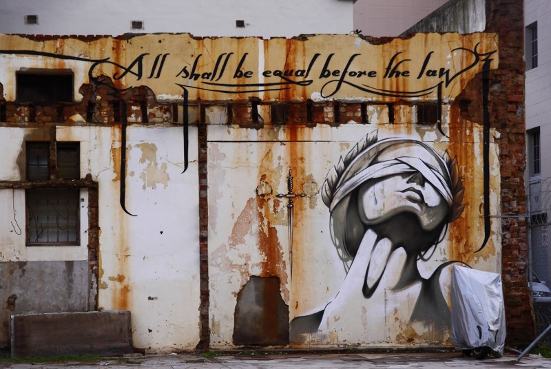 Street Philosophy at City Bowl, Cape Town, Western Cape, South Africa, by Anne Fröhlich on Flickr - CC license-NC-2.0
