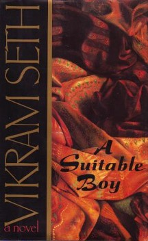front cover art for the book A Suitable Boy - Used as fair use