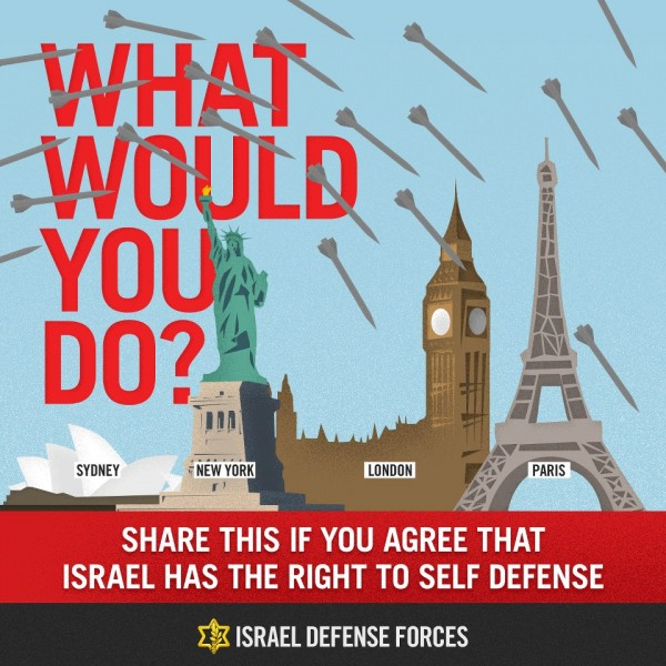 """Infographics: What Would You Do?"" by Israel Defense Forces via Flickr (CC BY-SA 2.0)"