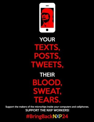 Your Texts, Posts, Tweets. Their Blood, Sweat, Tears.