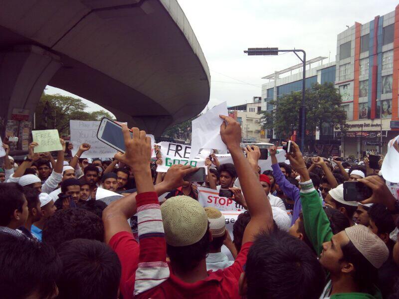 Hyderabad, India - July 13, 2014.