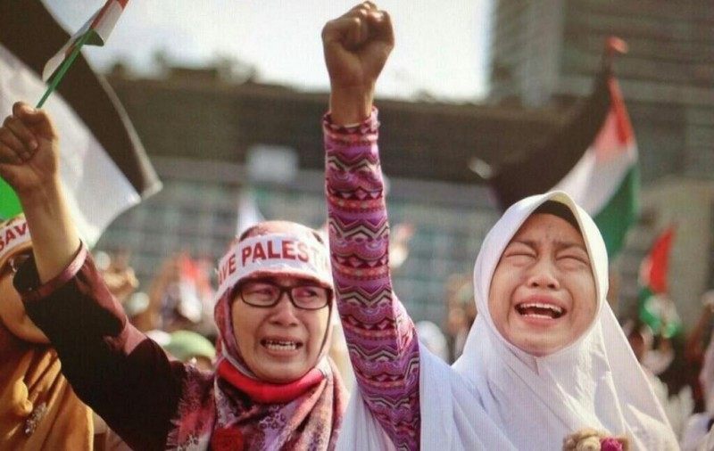 Indonesia - July 12, 2014.
