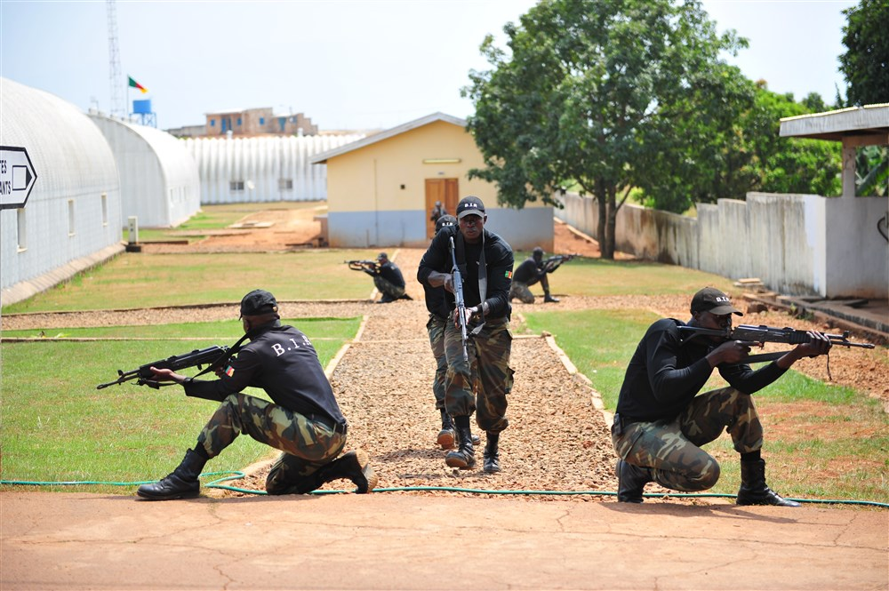 Cameroonian Special Forces during training. Can they defeat Boko Haram? Image released in the Public Domain by U.S. Africa Command.