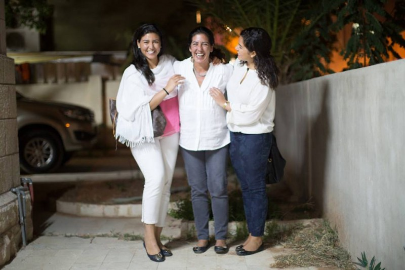 Mother and daughters in Amman, Jordan. From the Humans of New York web site.
