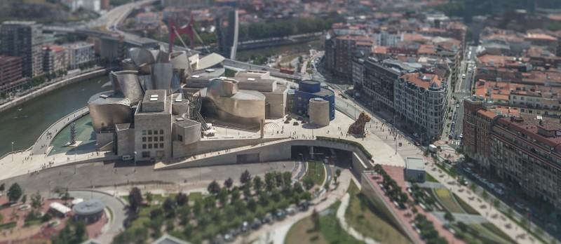 The Guggenheim in downtown Bilbao, Spain, where Sonia Ordóñez was born. Photo by Flickr user Andres Miguez. CC BY-NC-ND 2.0