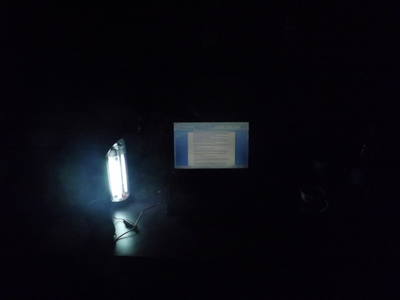 Writing the article during one of the power outages. Egyptians continue to suffer from power outages, with some areas experiencing up to 20 hours without power.