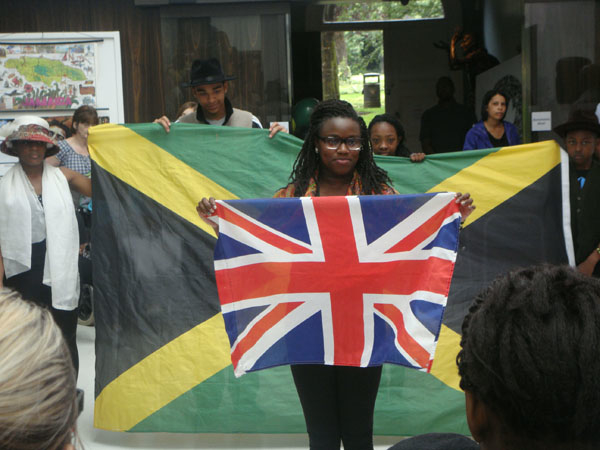 Jamaican Independence Day celebrations; photo taken from the WAVE: Galleries, Museums, Archives of Wolverhampton flickr page, used under a CC BY-NC-SA 2.0 license.