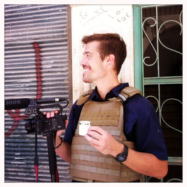 James Foley, reportedly beheaded by the ISIS today as a message to the US to stop its intervention in Iraq. Photo credit: Nicole Tung