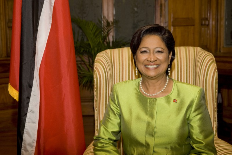 Trinidad and Tobago's Prime Minister, Kamla Persad-Bissessar; photo taken from The Commonwealth's flickr page, used under a CC BY-NC 2.0 license.