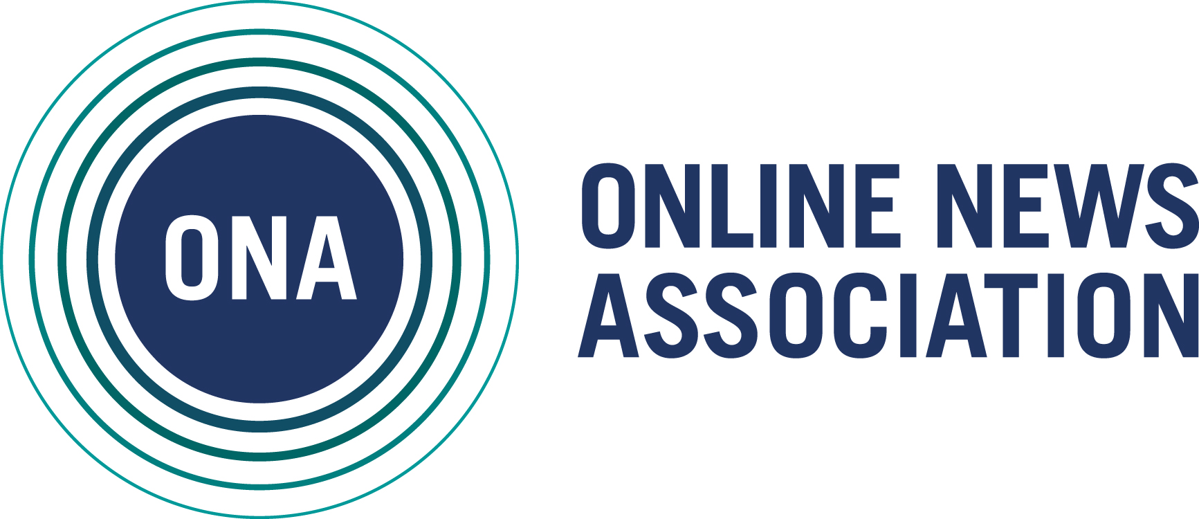 The Online News Association logo.
