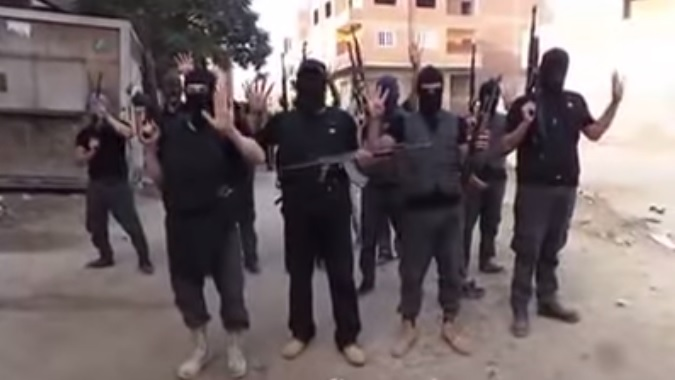 "Screenshot of the ""The Hilwan Brigades"" video."