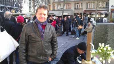 Nikolai Koblyakov, Russian entrepreneur and opposition activist in Paris, is detained in Bulgaria on an extradition request from Russia